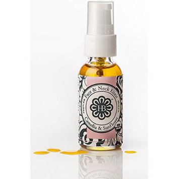 HollyBeth Organics - Camellia Sunflower Face & Neck Dry Oil