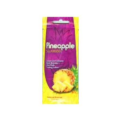 Lot of 5 Pineapple Squeeze tanning lotion packets