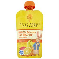 Peter Rabbit Organics Mango, Banana & Orange - 10 pk
