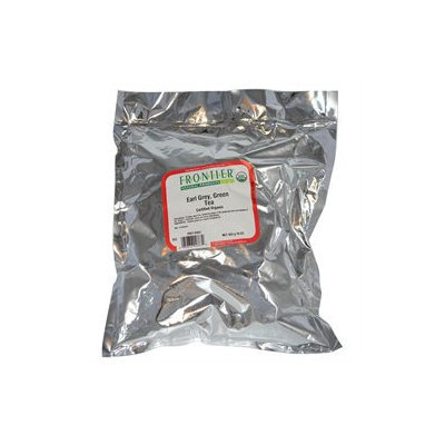 Frontier Bulk Earl Grey Green Tea ORGANIC 1 lb. package 2867