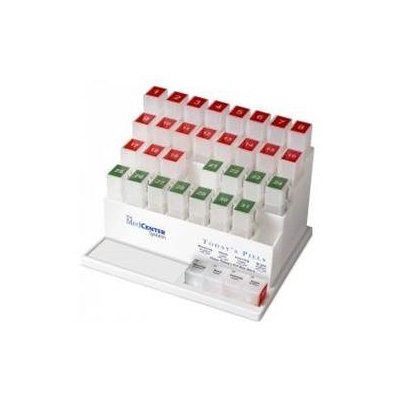 MedCenter 70256 31 Day Monthly Pill Organizer