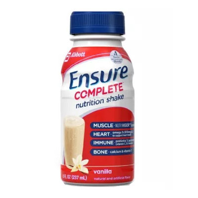Ensure® Complete Vanilla Nutrition Shake