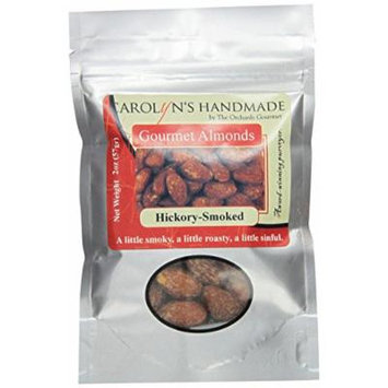 Carolyn's Handmade Gourmet Platinum Snack Bag, Hickory Smoked Almonds, 2 Ounce (Pack of 24)