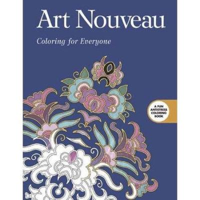 Art Nouveau: Coloring for Everyone