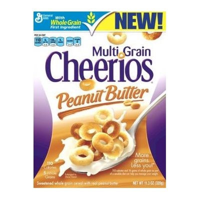 Multi Grain Cheerios Peanut Butter