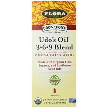 Flora Udo's Choice Oil, 3-6-9 Blend, 32 Ounce