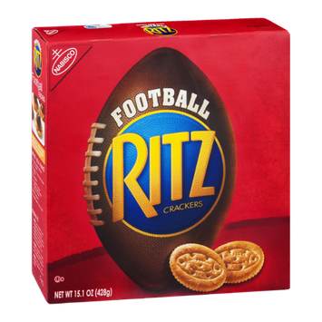 Nabisco Ritz Crackers Football