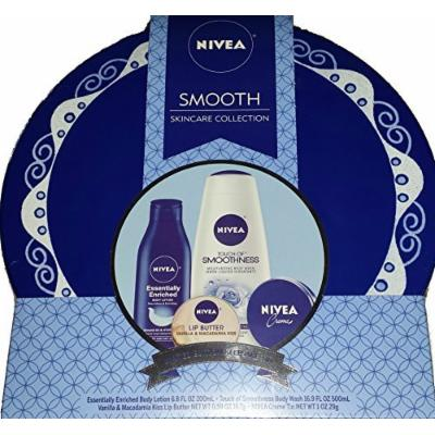 NIVEA Smooth Skincare Collection Ideal Christmas Gift/Birthday Gift/Mothers Day Gift