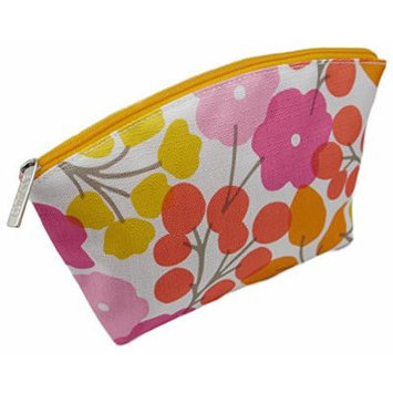 Clinique Cosmetic Makeup Travel Bag Cherry Blossom Pink Floral
