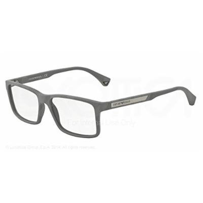 EMPORIO ARMANI Eyeglasses EA 3038 5253 Grey Rubber 56MM