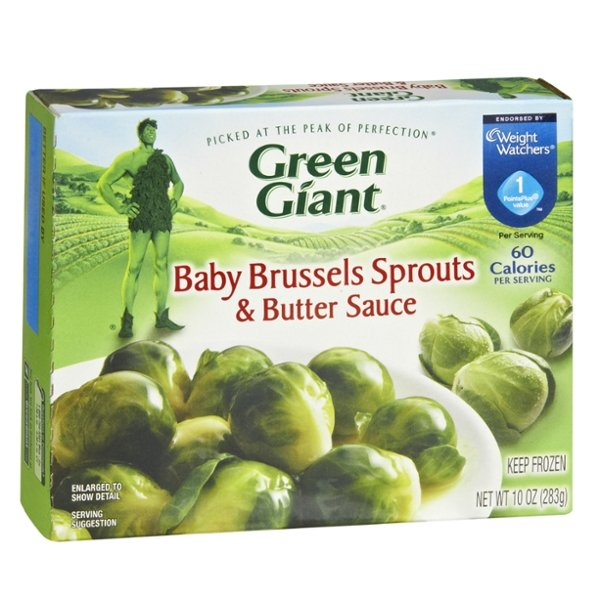 Green Giant Baby Brussels Sprouts & Butter Sauce