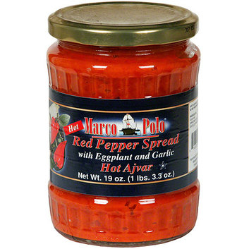 Marco Polo Red Pepper Spread With Eggplant And Garlic