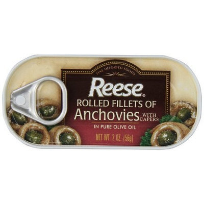 Reese Rolled Anchovies, 2-Ounce, 10-Count Cans