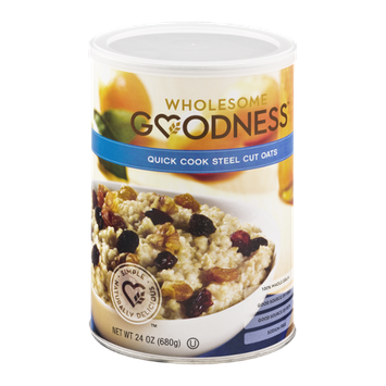 Wholesome Goodness Quick Cook Steel Cut Oats
