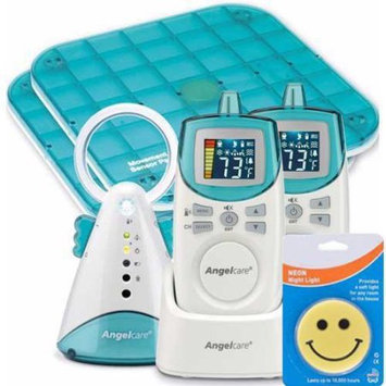 Angelcare AC401DPM Deluxe Plus Movement Sound Monitor with Sound Monitor and