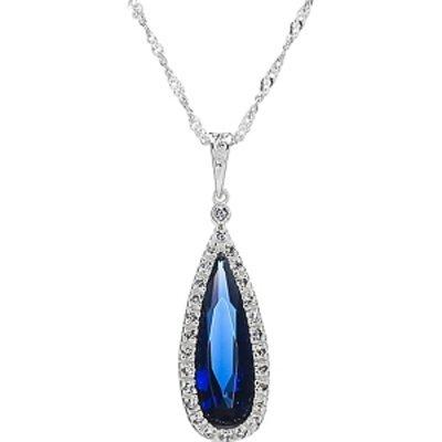Emitations Bridal Necklace: Avana's Faux Pear Drop Necklace
