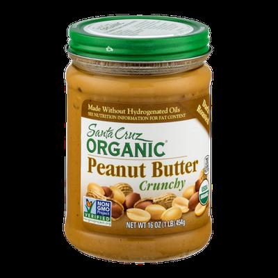 Santa Cruz Organic Crunchy Peanut Butter Dark Roasted