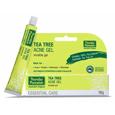 Thursday Plantation Tea Tree Acne Gel 10g (0.35 Oz) , Ideal for whiteheads, blackheads, pimples and acne.