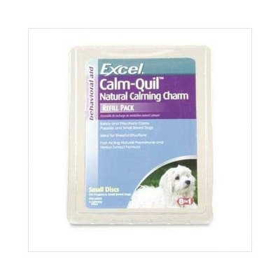 8In1 Pet Products Excel Calm Quil Natural Calming Charm Refill for Small Dogs, Clam Shell