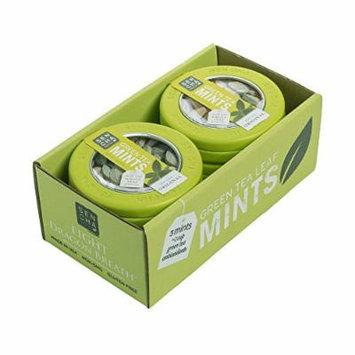 SENCHA NATURALS Green Tea Mints, 6 Count