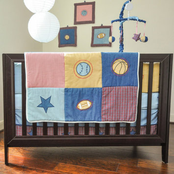 Pam Grace Creations Sports 10 Piece Crib Set