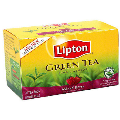 Lipton Mixed Berry Green Tea, 20ct (Pack of 6)