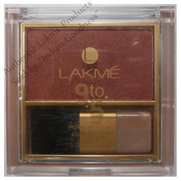 Lakme Pure Rouge Blusher (Peach Affair) + Free Gifts + Free Shipping