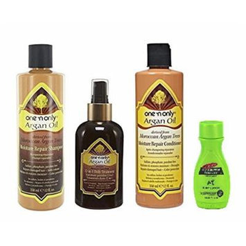 One'n Only Argan Oil Moisture Repair Kit with Palmer's Travel Size Body Lotion