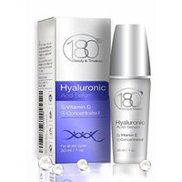 180 Cosmetics - Hyaluronic Acid Serum With Vitamin C - Effective Facial Serum With Hyaluronic Acid For Impressive Results - Best Anti Aging Serum - Pure and Concentrated - Best Anti Wrinkle Serum 1oz