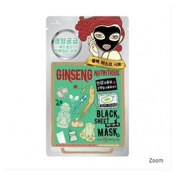 DEWYTREE Ginseng Nutritious Black Mask Set, 5ea in 1 set, Korean Cosmetics, Korean Beauty, Kpop Beauty, Kstyle