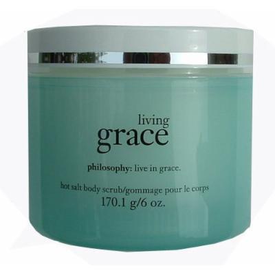 Philosophy Hot Salt Body Scrub 6 oz. (Living Grace)