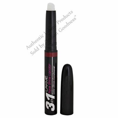 Lakme Aquashine Lip Color 2.55 ml (Plum) + Free Gifts +