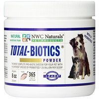 Ultra Pet Products NWC Naturals- Total-Biotics- Probiotics for Dogs and Cats - Treats 365 Cups of Pet Food
