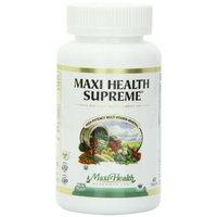Maxi Health, Maxi Health Supreme, High Potency Multi Vitamin, Mineral, 60 Tablets