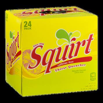 Squirt Caffeine Free Citrus Soda Thirst Quencher - 24 CT