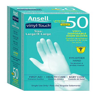 Ansell Vinyl Touch Gloves