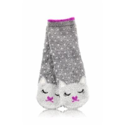 Bath and Body Works Cat Nap Shea-infused Lounge Socks Kat Cat