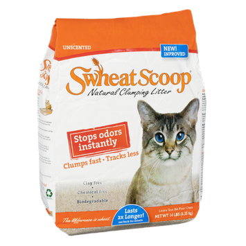 Swheat Scoop Natural Clumping Cat Litter Unscented