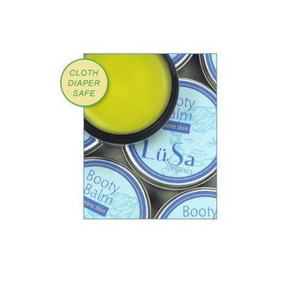 Lusa Organics Booty Balm - All Natural Organic Ingredients Soothe Sore Baby Bottoms Including Diaper Rash, Cuts, Scrapes, Sunburn, and Windburn - .8 Oz