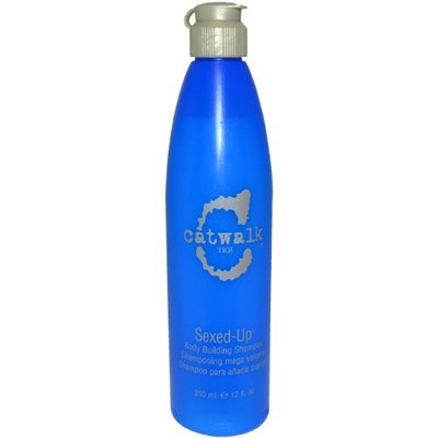 TIGI Catwalk Sexed-Up Body Building Unisex Shampoo, 12 Ounce