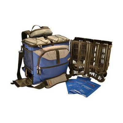 TrackPack Coolers LLC TrackPack Drink Dispensing Backpack Cooler - Royal (14'' x 14'' x 8'')