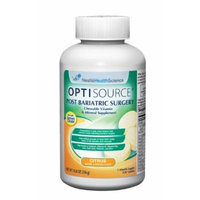 Optisource Bariatric Supplement Chewable Tablet, 11.8 Ounce -- 12 per case.