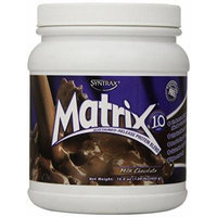 Syntrax Matrix Whey Protein, Milk Chocolate, 1 Pound