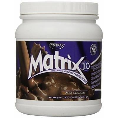Syntrax Matrix Whey Protein, Milk Chocolate, 1 Pound