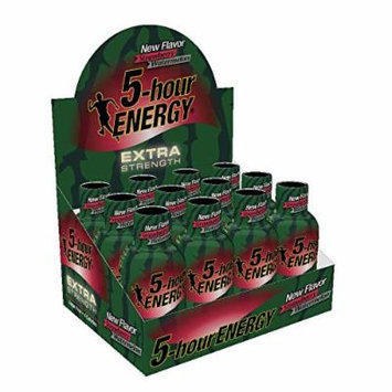 5 Hour Energy, Extra Strength Strawberry and Watermelon (24 Count)