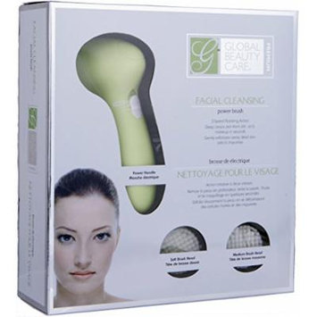 Global Beauty Care Premium Facial Cleansing Power Brush- (Green)