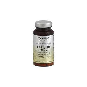 Radiance Platinum CO Q-10, Ubiquinone, 120mg, 30 capsules