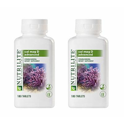 Nutrilite Cal Mag D Advanced 180 Tablets Prevent Osteoporosis Maintain Good Overall Health By Siamproviding