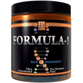 Dynamic Formulas Formula-1 Ultra-Concentrated Pre-Workout Fuel Blue Raspberry 35 servings