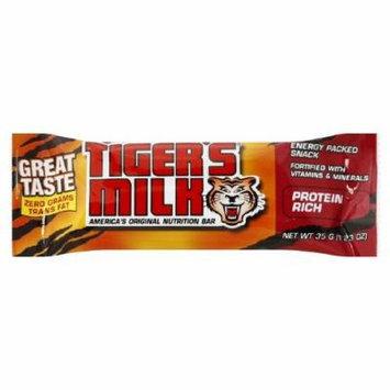 Tiger's Milk Nutrition Bars, Protein Rich 24 ea